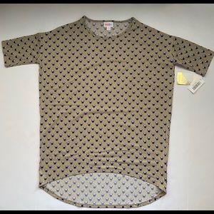 Disney lularoe minnie mouse irma shirt XXS